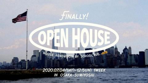 OPEN HOUSE<完成したリノベーションを見てみよう>大阪・住吉区