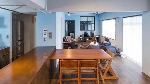2/5 in東京・渋谷区富ヶ谷 《1日限定》3人家族が暮らす100平米のリノベ空間!リアルなお宅見学会。そして直接聞いてみよう!本音で語る中古リノベ体験談