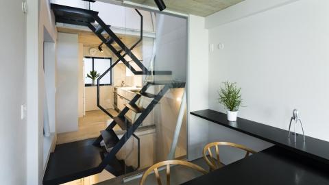 蔵前の小さな家ー床暖房体験会、内覧会