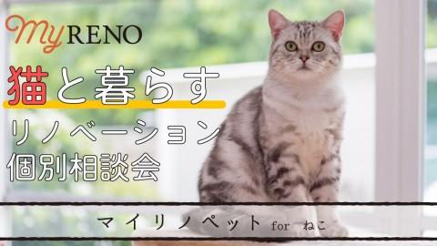 猫と暮らすリノベーション個別相談会