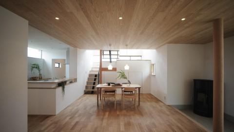 ミニマルな空間の家  in 知立市