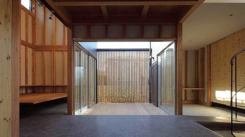 第2回 人と建築展 荒木穀 中庭のある家