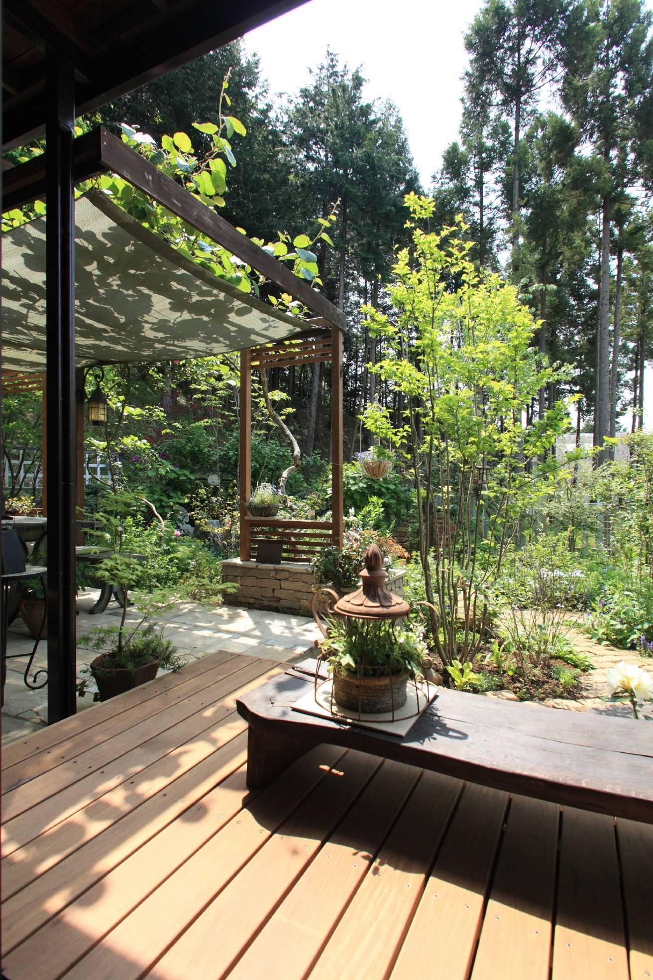 川崎市M邸:花と緑を楽しむガーデンデザインのリノベーション前の写真