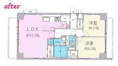 高級ロッジのような上質で温もり豊かな住空間の間取図