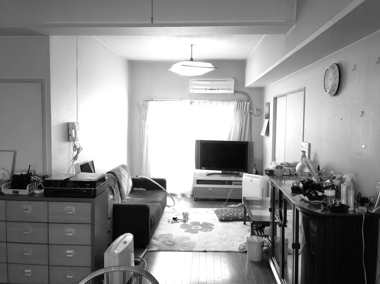 家族構成に合わせたマンションリノベーションのリノベーション前の写真
