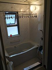 ユニットバス・洗面所・トイレリフォームのリノベーション前の写真