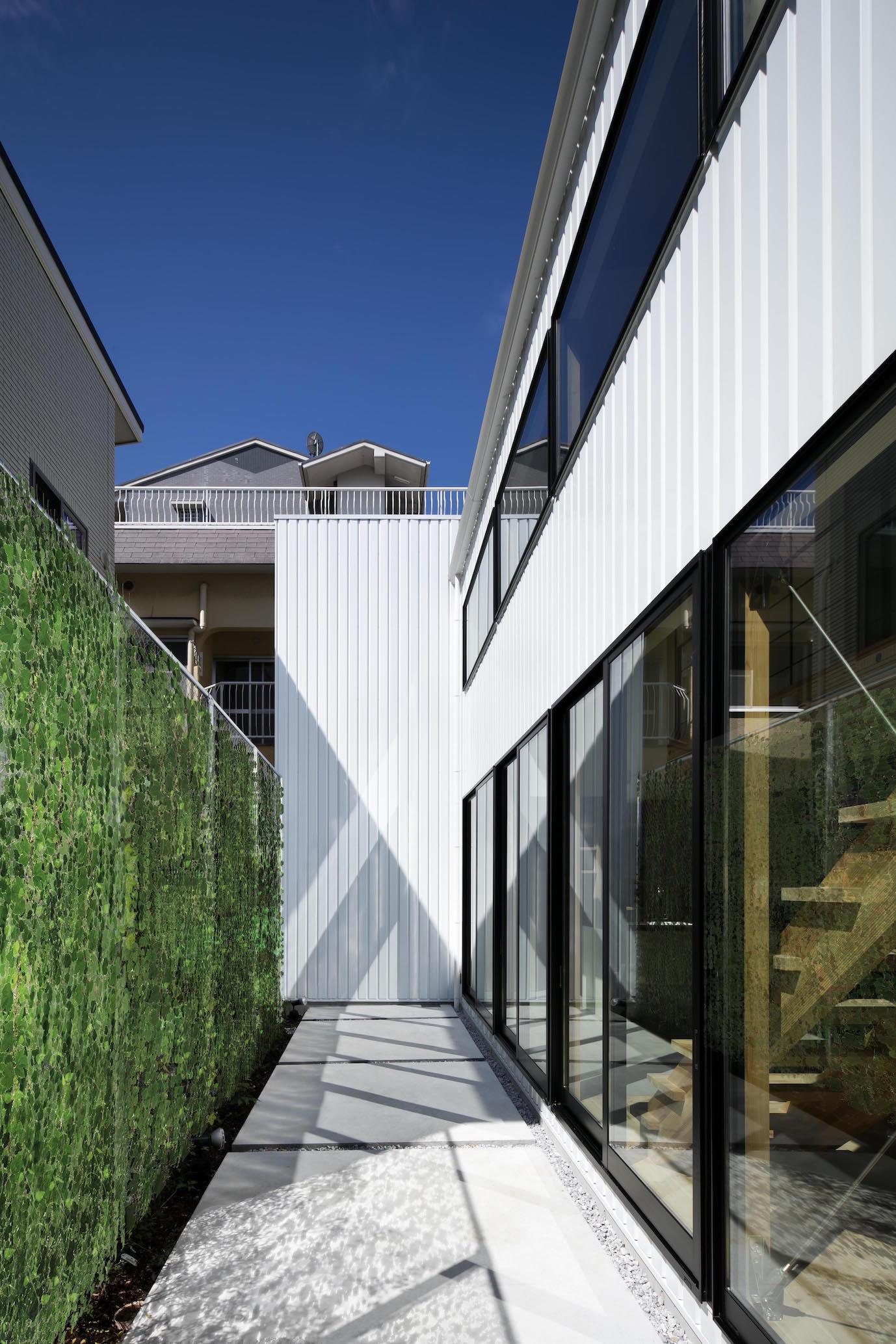箕面の家のパース/模型/CG/スケッチなど