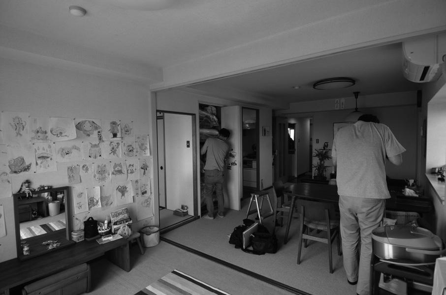引き込み障子と小上がり畳の可変性を持たせたリノベーションのリノベーション前の写真