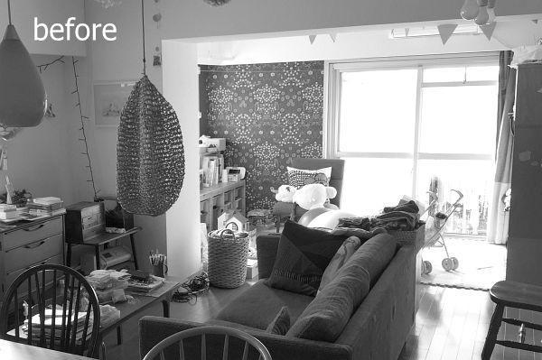 M宅 「動かせる部屋」と「動かせる収納」で部屋をつくる。のリノベーション前の写真