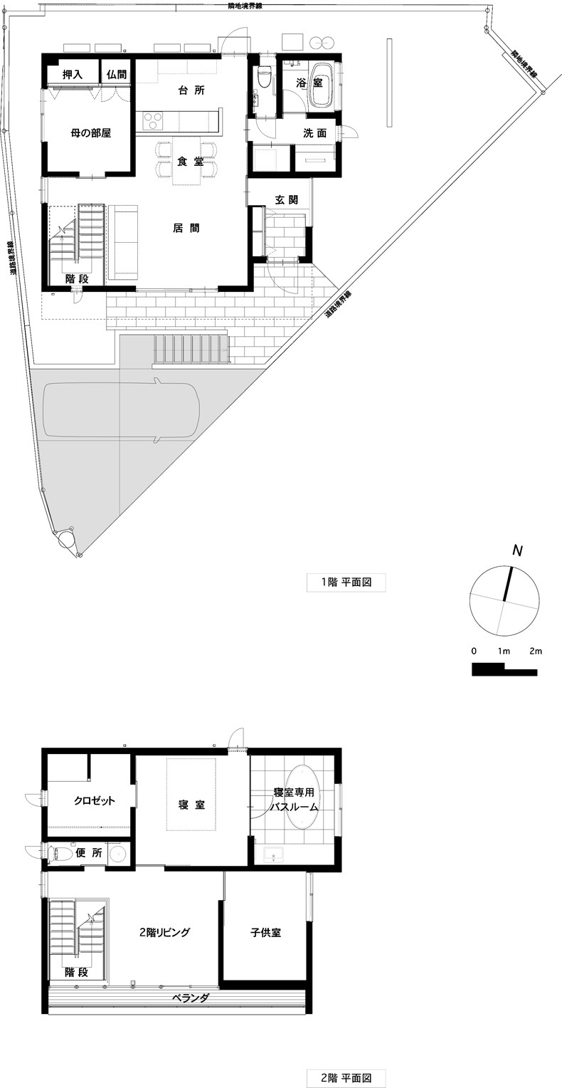 RELAXATION HOUSEの間取り図