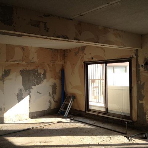 千葉・バスキッチンの家のリノベーション前の写真