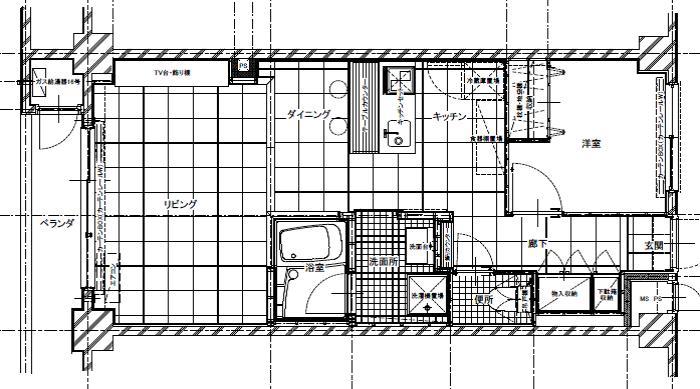 六本木邸の間取図