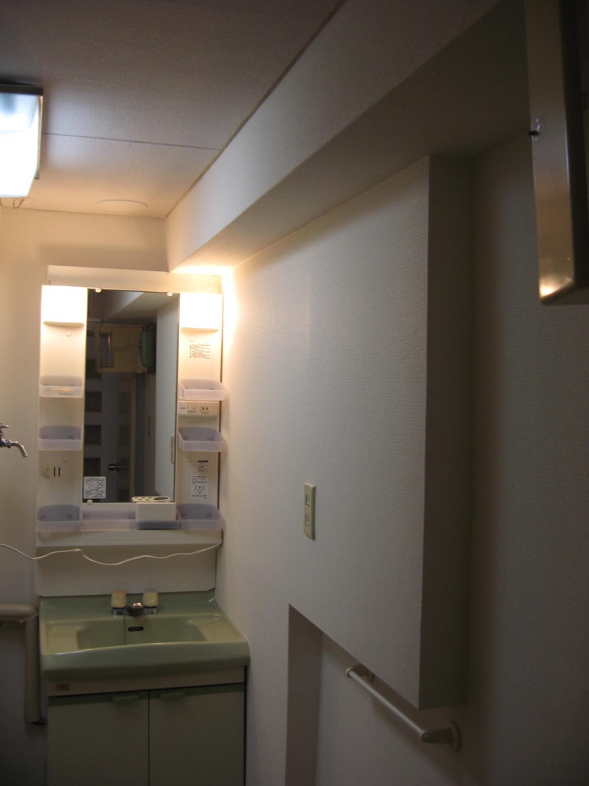 LDKをできるだけ広く。その分寝室は最小限の広さにのリノベーション前の写真