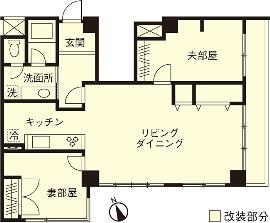 S邸・Shine&colorful HOMEの間取図