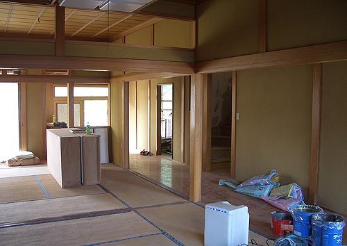 宇佐の家のリノベーション前の写真