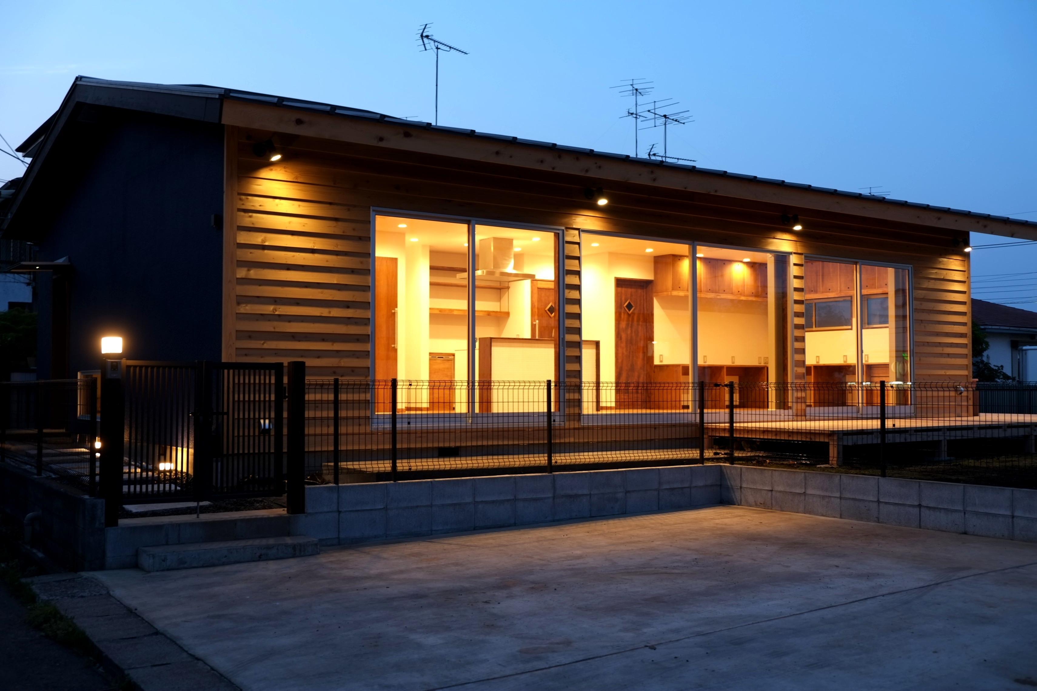 R+HOUSEのパース/模型/CG/スケッチなど