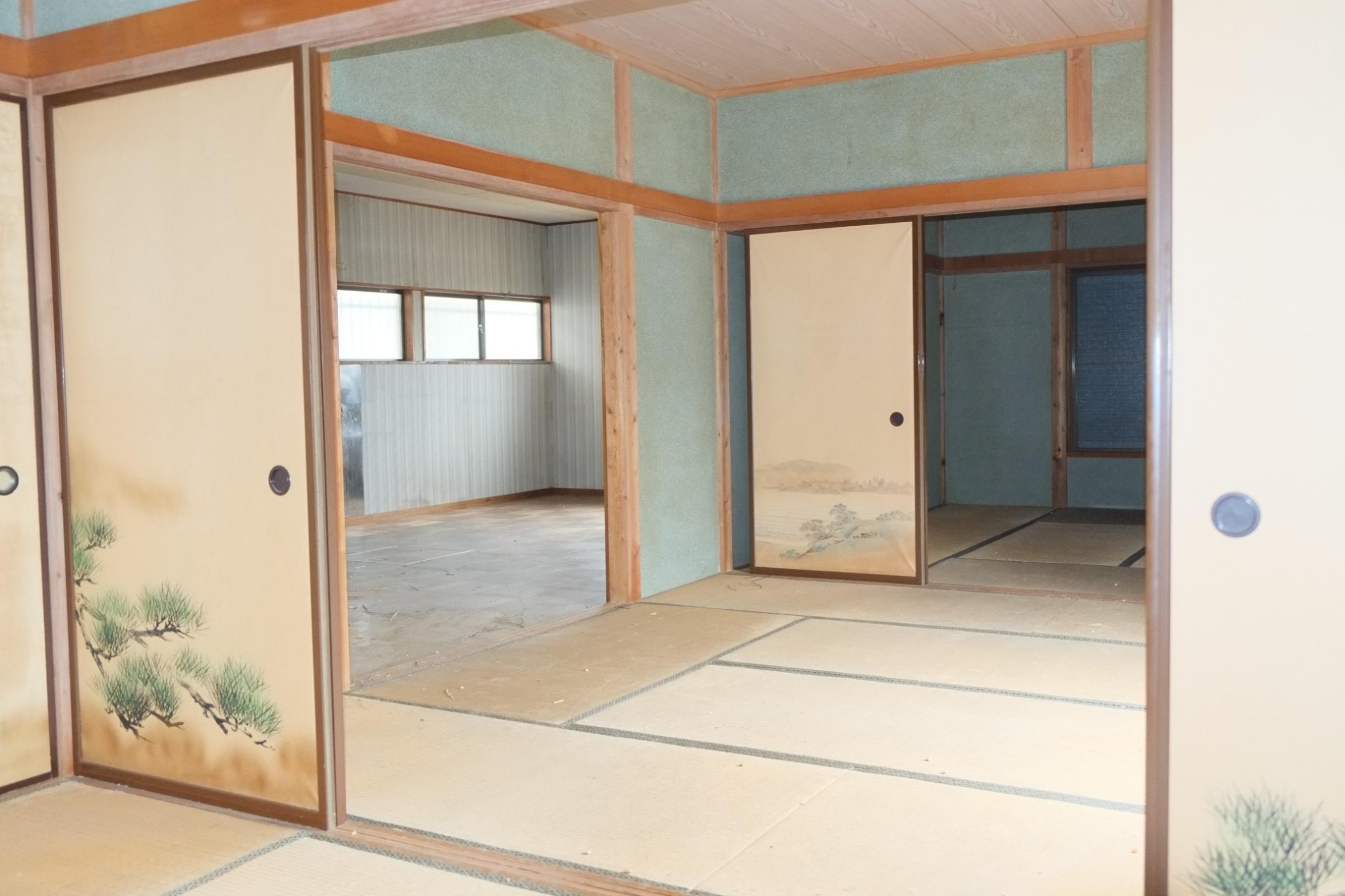 R+HOUSEのリノベーション前の写真