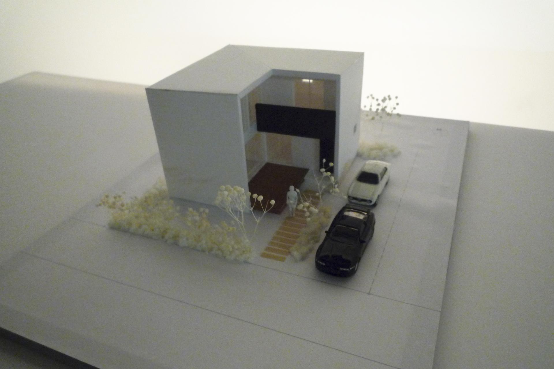 L-HOUSEのパース/模型/CG/スケッチなど