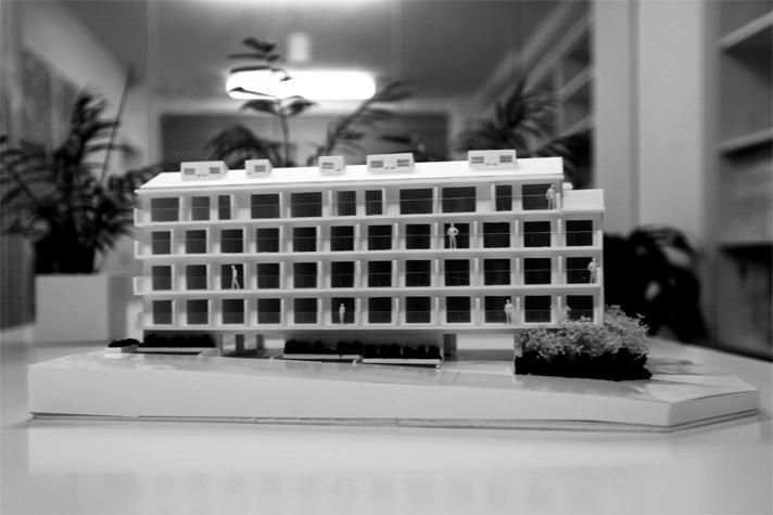 箕面のマンションのパース/模型/CG/スケッチなど