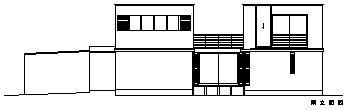 CH5(中庭のある家05)のパース/模型/CG/スケッチなど