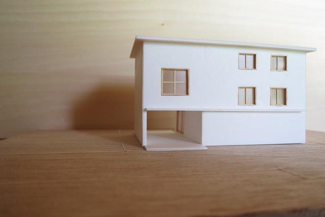柳瀬の家のパース/模型/CG/スケッチなど