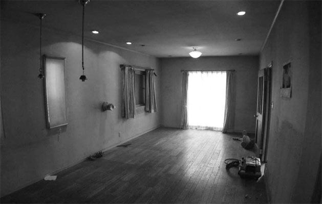 『houseS』光の間が家族間のコミュニケーションを育む家のリノベーション前の写真