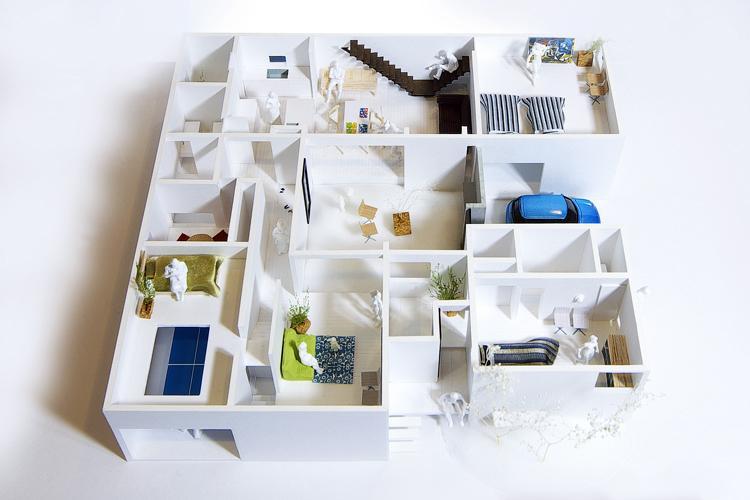 house and atelier PTLのパース/模型/CG/スケッチなど