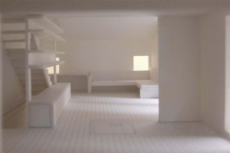 立川の住宅のパース/模型/CG/スケッチなど