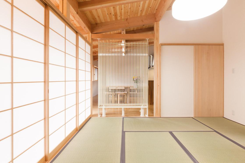 飯島の家の写真 扉のない和室