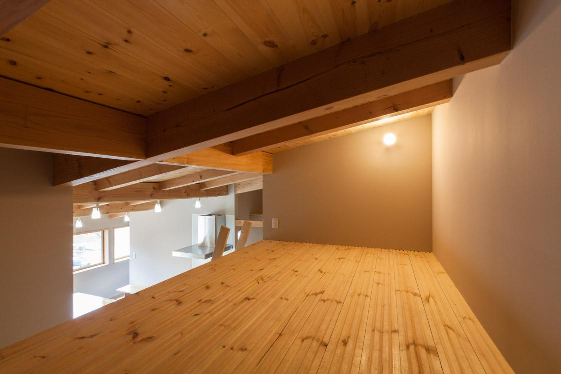 飯島の家の部屋 ロフト空間