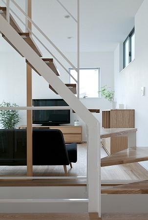 House Kの写真 オープン型階段