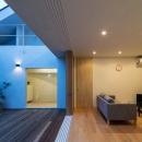濱田猛の住宅事例「焼き杉の家」