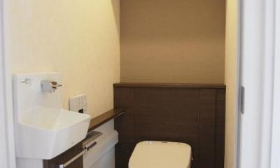 琉球畳のあるホワイトウッドテイスト