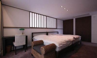 YU邸 (落ち着きのある寝室)