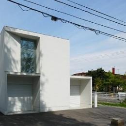 白い家 (外観3)