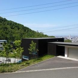 黒い家 (外観1)