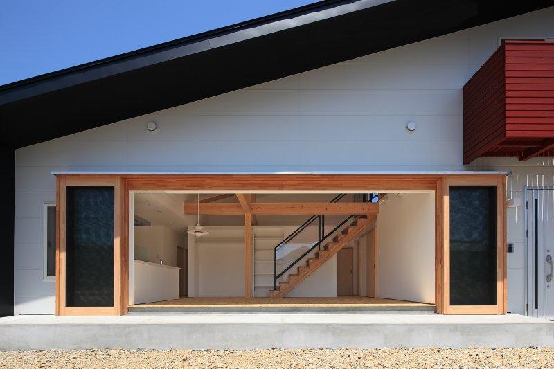 建築家:七川 淳「House-S【 ヒトツナガリノイエ 】」