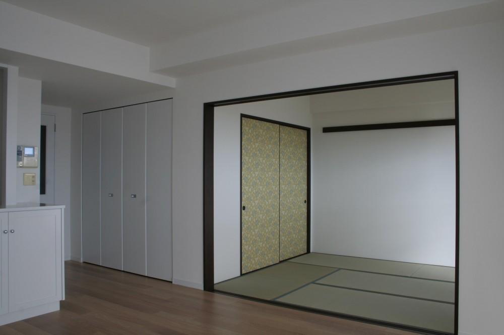 A邸 (和室開放時)