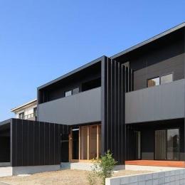 House-SK【 HB 】 (南東側から見る)