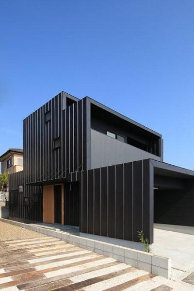 House-SK【 HB 】 (南西側から見る)