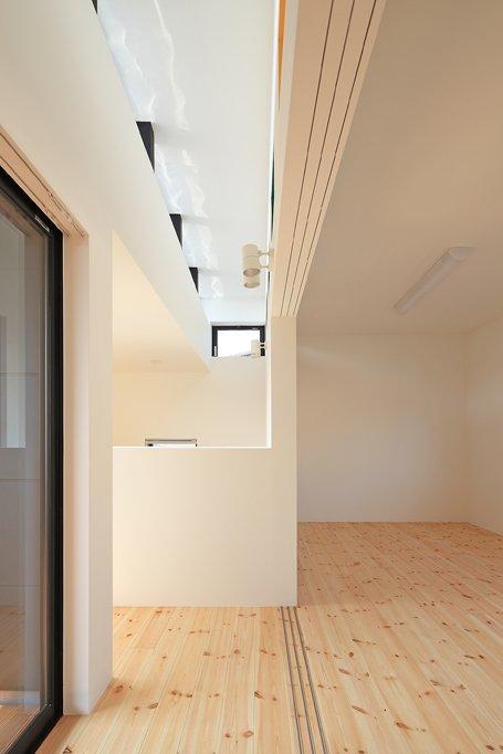 House-SK【 HB 】の部屋 2階廊下にて上部を見る