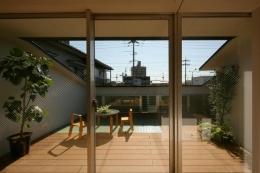 岩国の家 (2階テラス)