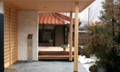 エントラスポーチ|東広島の家