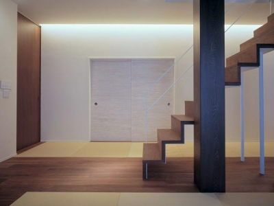 東広島の家 (階段)