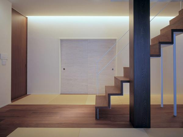 東広島の家の写真 階段