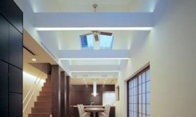 東広島の家 (LDKと畳スペース)