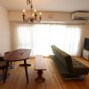 SUGICOの住宅事例「生活スタイルに合わせたリノベーションの姿(レトロなカフェ風空間でくつろぐ住まい)」