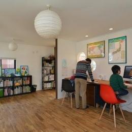 開放感のある書斎
