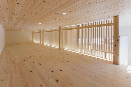 みんなのいえの部屋 檜を使った贅沢な空間