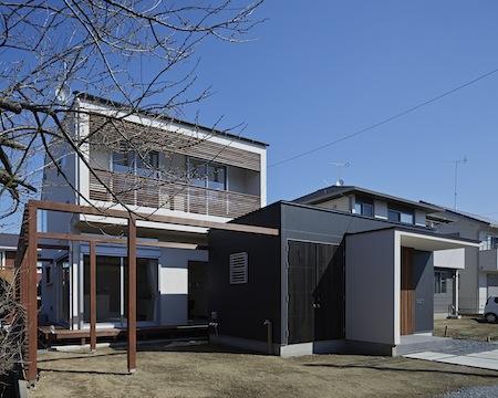 森林浴のいえの部屋 光と風を取り込む住宅